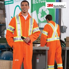 4″ REFLECTIVE TAPE COVERALLS